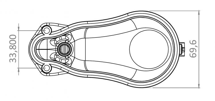 Схема поплавкового уровня mouse